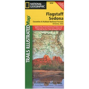 Flagstaff Sedona Trails Map