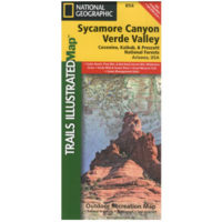 Sycamore Canyon Valley Verde Map