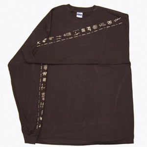 Long Sleeve Shirt Petroglyphs