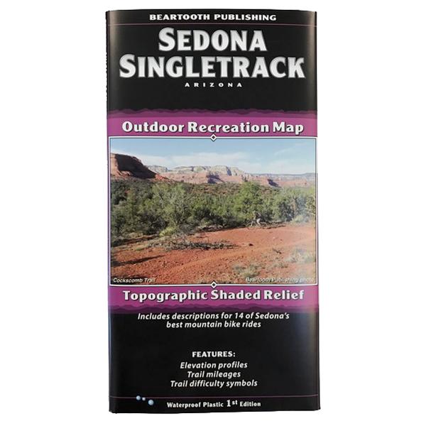 Beartooth Sedona Singletrack Outdoor Recreation Map on sedona hiking map pdf, cave creek az hiking maps, pine az hiking maps, sedona arizona map, sedona jeep trails map, sedona arizona hiking,