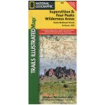 Superstition & Four Peaks Wilderness Map
