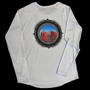 Women's Solar Shirt - back view